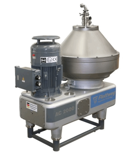 liquid-liquid separation by disc bowl centrifuge essay Disc bowl centrifuge used for vco extraction from raw  disc bowl centrifuge used for vco extraction from raw coconut milk in liquid-liquid-solids separation.